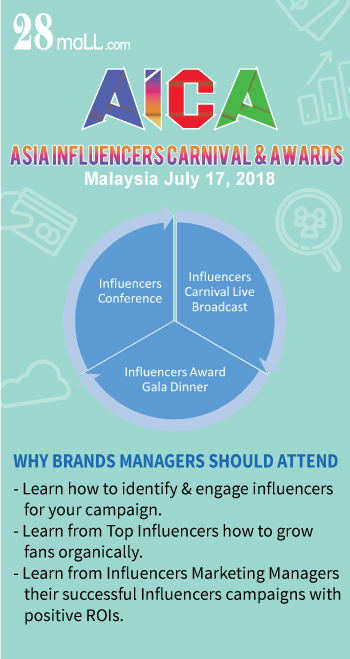 Asia Influencers Carnival & Awards - Why brands managers should attend